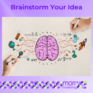 2. Brainstorm Your Idea - Nine Tips for Creating Your EBook Content