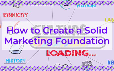 How to Create a Solid Marketing Foundation